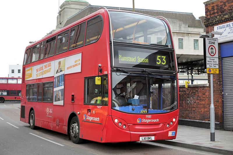 19818 LX11BKL, Woolwich 13/5/2014