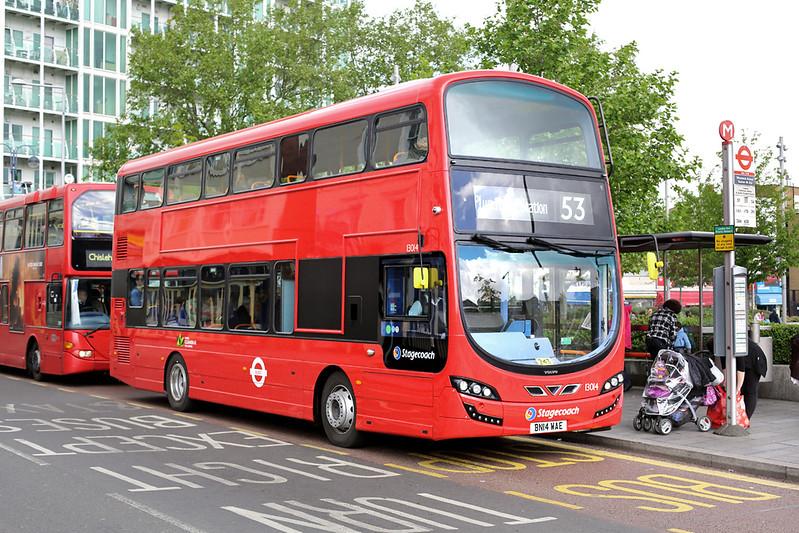 13014 BN14WAE, Woolwich 13/5/2014