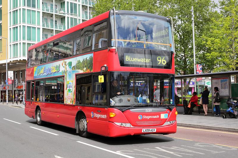 15089 LX09AGV, Woolwich 13/5/2014
