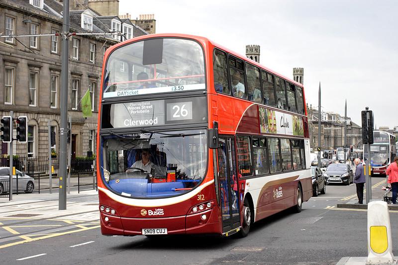 312 SN09CUJ, Edinburgh 13/6/2014