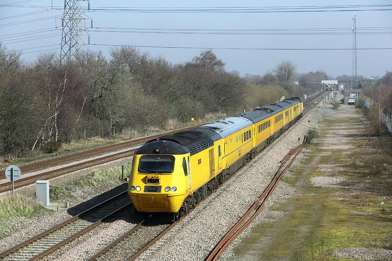 43062 and 43013, North Stafford Junction 14/3/2014<br /> 1Z38 1137 Derby RTC-Derby RTC (via Parson Street Bristol)