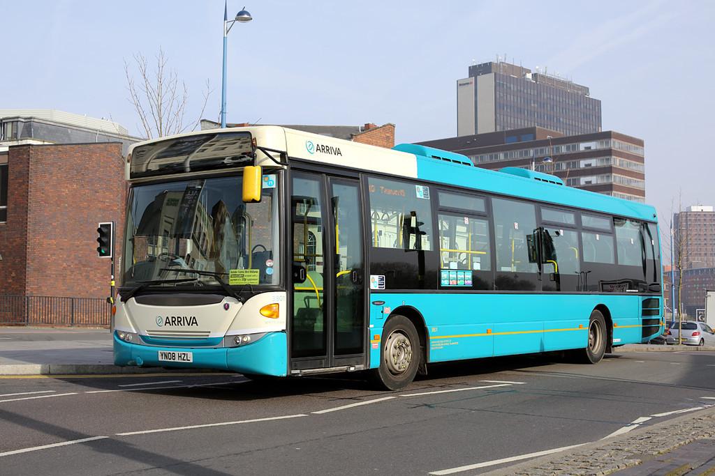 3801 YN08HZL, Birmingham 14/3/2014