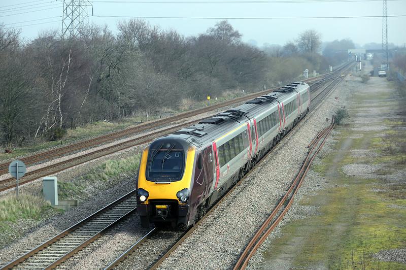 220031 North Stafford Junction 14/3/2014<br /> 1V85 0700 Edinburgh-Reading