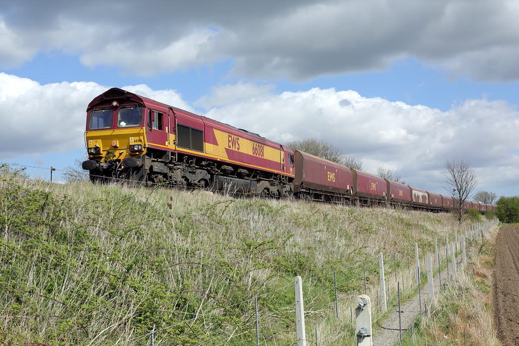 66081 Barnetby 14/4/2014<br /> 6B35 1234 Immingham Dock-West Burton PS