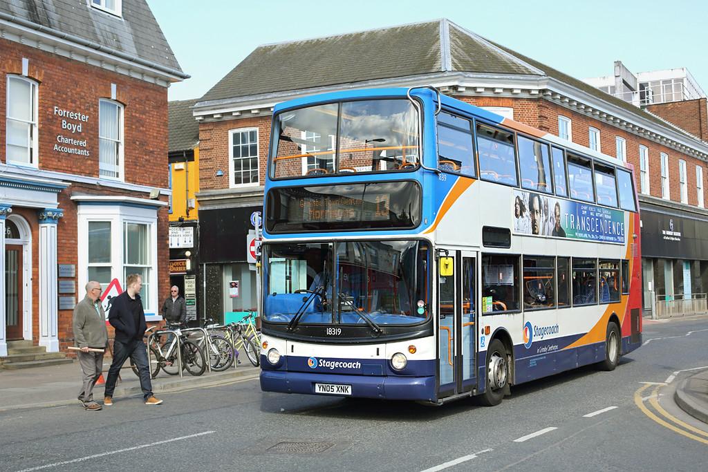 18319 YN05XNK, Grimsby 14/4/2014