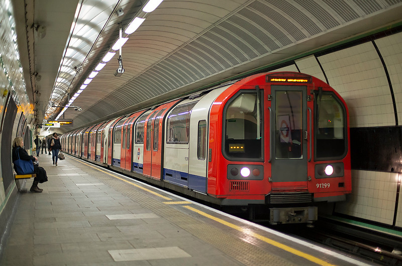 Central Line 91299, Wanstead 15/1/2014