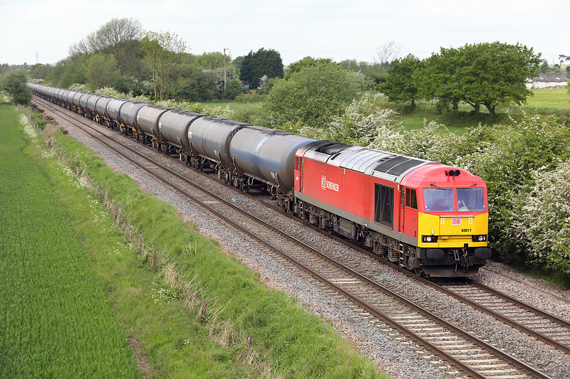 60017 Barrow upon Trent 15/5/2014<br /> 6E54 1040 Kingsbury-Humber OR