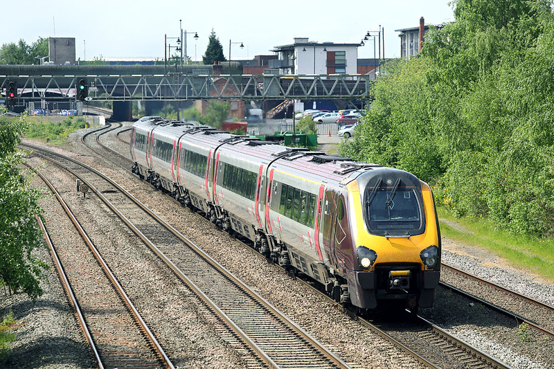221126 Burton-upon-Trent 15/5/2014<br /> 1S41 0725 Plymouth-Edinburgh