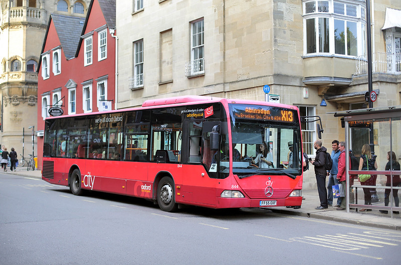 844 FF55OXF, Oxford 15/9/2014