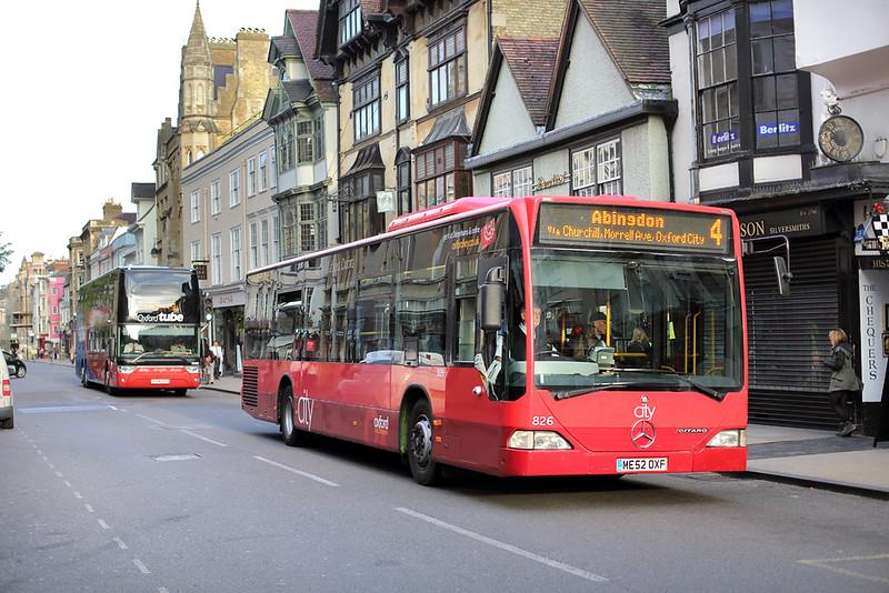 826 ME52OXF, Oxford 15/9/2014