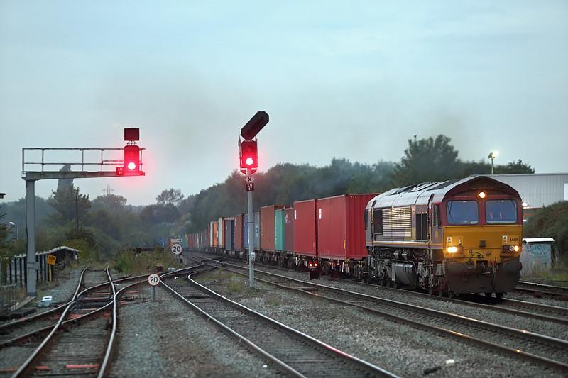 66181 Leamington Spa 15/9/2014<br /> 4O76 1645 Birch Coppice-Southampton Western Docks