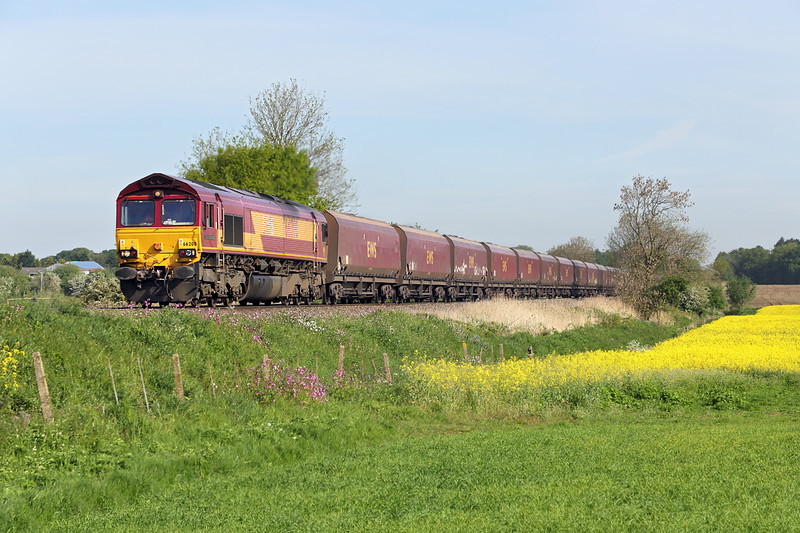 66200 Claxby 16/5/2014<br /> 6Z38 0645 Immingham Dock-Ratcliffe PS