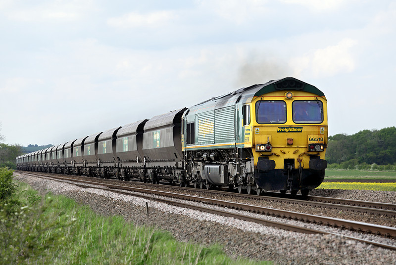 66518 Howsham 16/5/2014<br /> 6M81 1345 Immingham Dock-Ratcliffe PS
