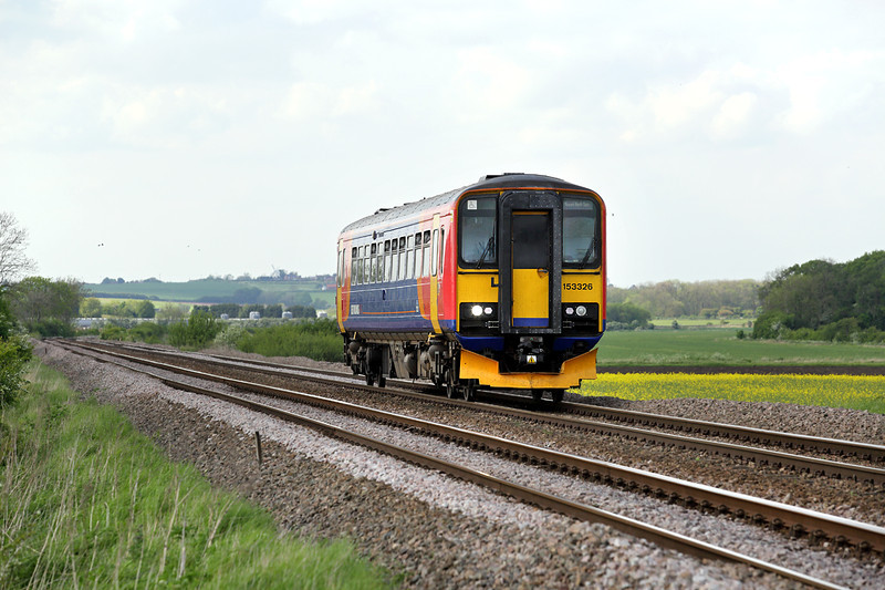 153326 Howsham 16/5/2014<br /> 2T56 1545 Gimsby Town-Newark Northgate