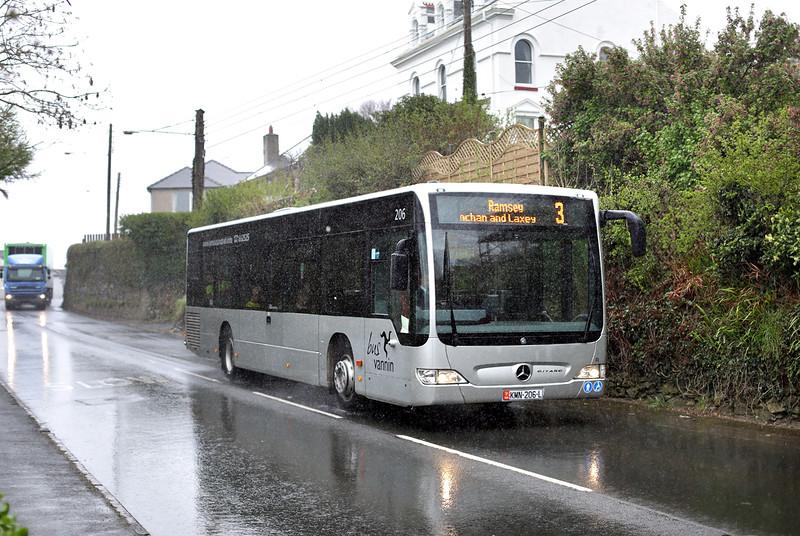 206 KMN206L, Laxey 17/4/2014