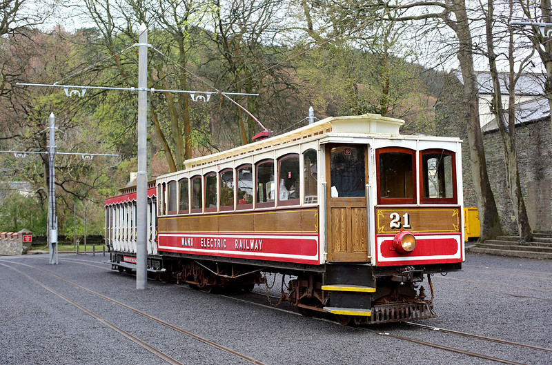 21 and 46, Laxey 17/4/2014<br /> 1510 Douglas-Ramsey