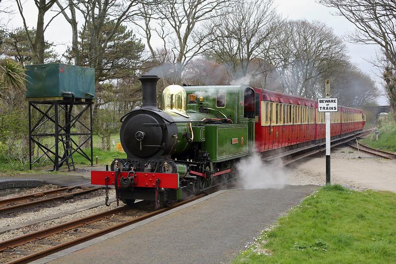 10 'G H Wood', Castletown 17/4/2014<br /> 1150 Douglas-Port Erin