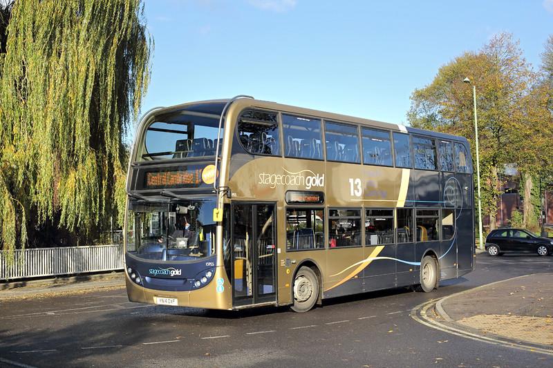 15955 YN14CXF, Haverhill 17/11/2014