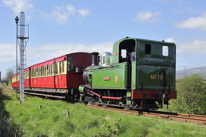 10 'G H Wood', Castletown 18/4/2014<br /> 1435 Port Erin-Douglas