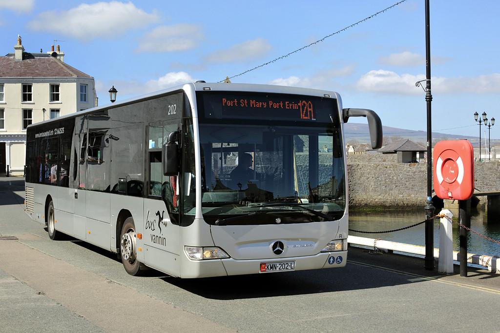 202 LMN202L, Castletown 18/4/2014