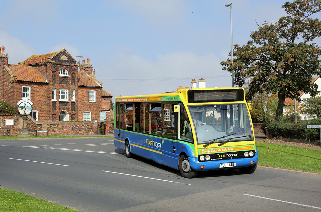 47906 YJ09LBE, Wells Next The Sea 18/9/2014