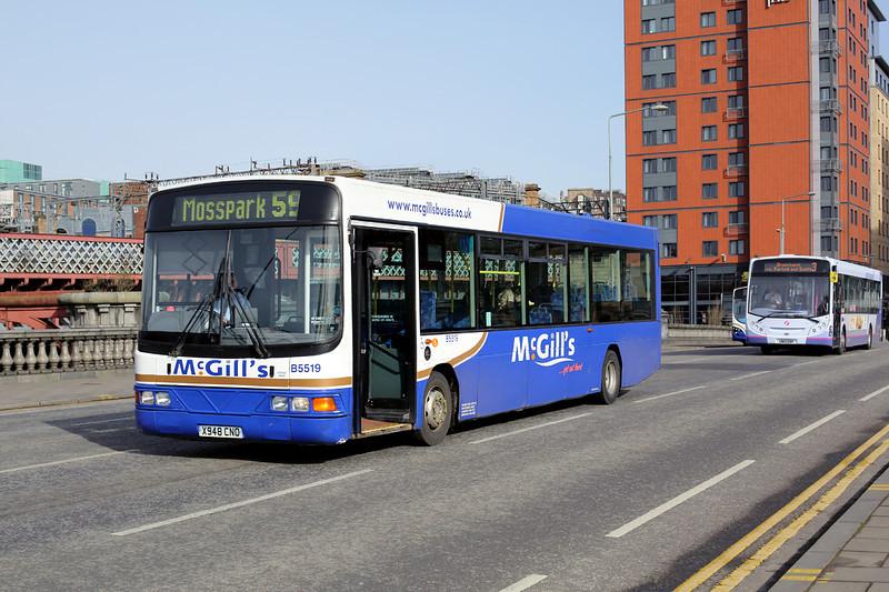 5519 X948CNO, Glasgow 19/3/2014