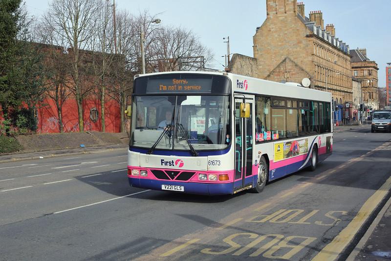 61673 V221GLS, Glasgow 19/3/2014