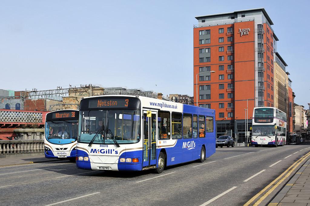 5078 W78PRG, Glasgow 19/3/2014