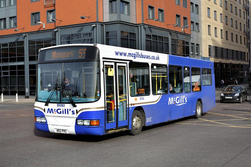 5082 W82PRG, Glasgow 19/3/2014