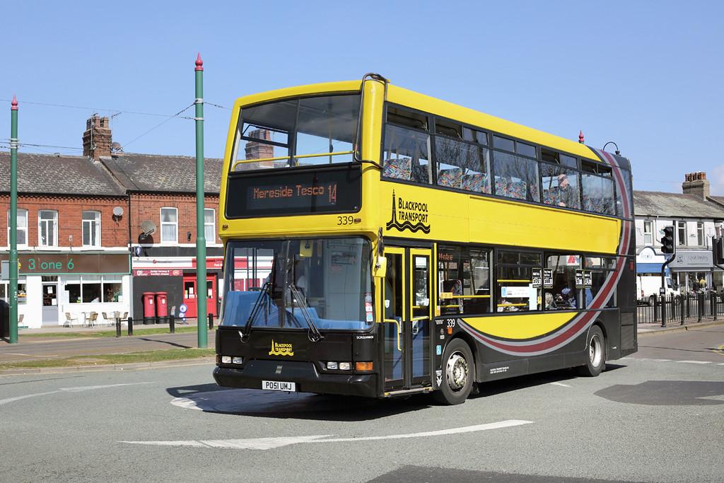 339 PO51UMJ, Fleetwood 19/4/2014