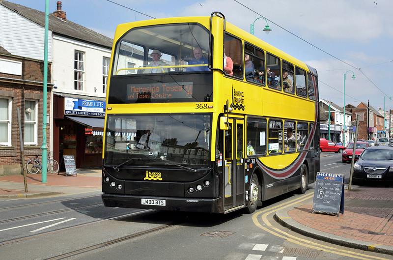 368 J400BTS, Fleetwood 19/4/2014