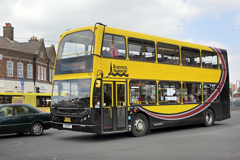 352 E19BTS, Cleveleys 19/4/2014