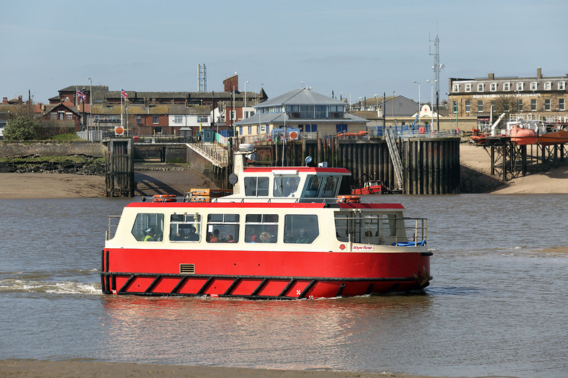 'Wyre Rose', Knott End to Fleetwood Ferry, 19/4/2014