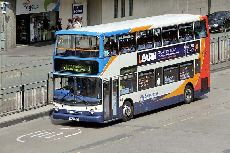 18158 PX54AWY, Preston 19/6/2014