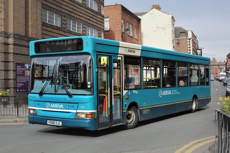 2358 V588DJC, Chester 20/3/2014