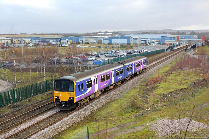 150137 Buckshaw Parkway 20/12/2014<br /> 2N99 0923 Manchester Victoria-Blackpool North