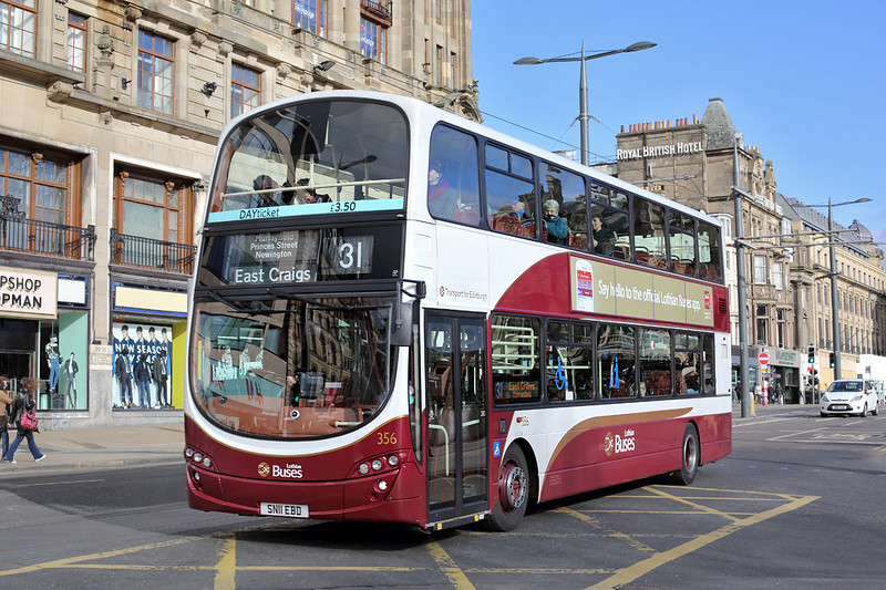 356 SN11EBD, Edinburgh 21/2/2014
