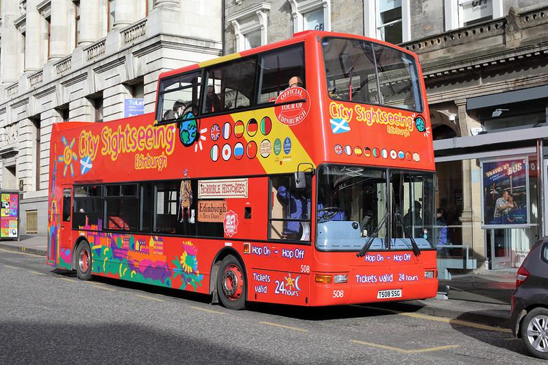 508 T508SSG, Edinburgh 21/2/2014
