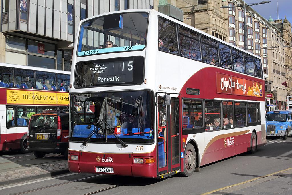 639 SK52OGX, Edinburgh 21/2/2014