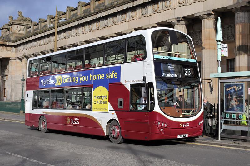 371 SN11ECE, Edinburgh 21/2/2014