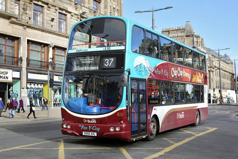 825 SN56AHL, Edinburgh 21/2/2014
