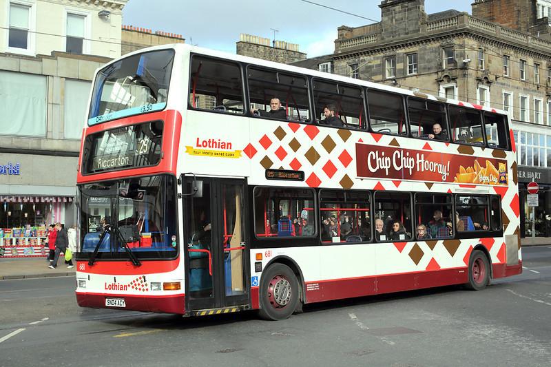 681 SN04ACY, Edinburgh 21/2/2014