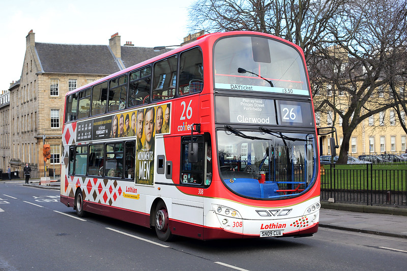 308 SN09CUA, Edinburgh 21/2/2014
