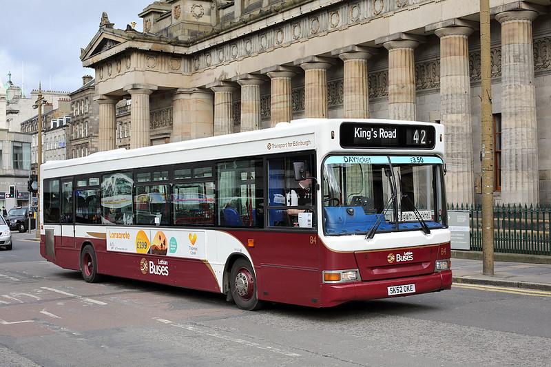 84 SK52OKE, Edinburgh 21/2/2014