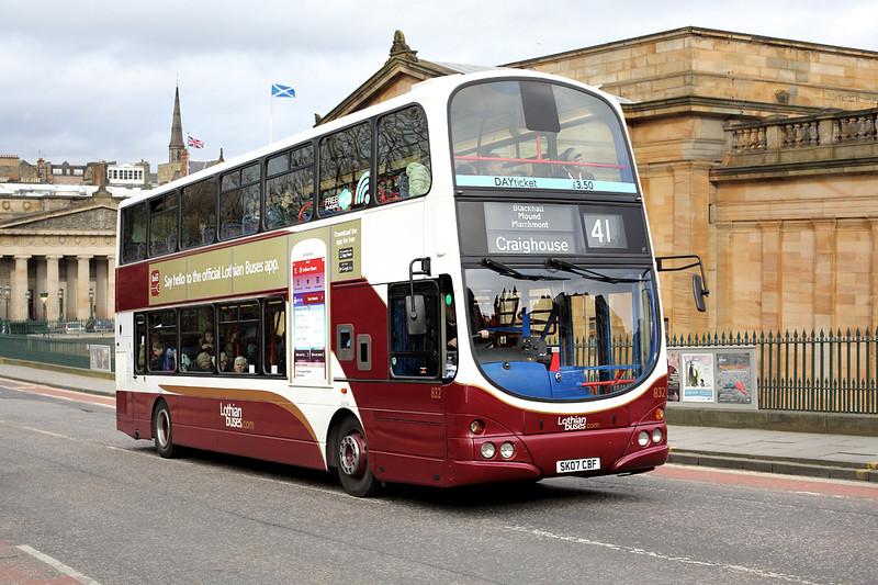832 SK07CBF, Edinburgh 21/2/2014