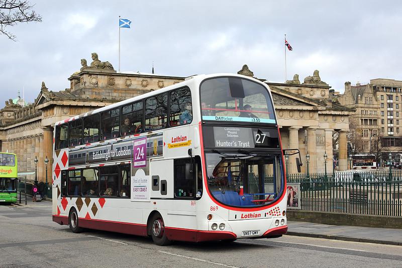 869 SN57GNY, Edinburgh 21/2/2014