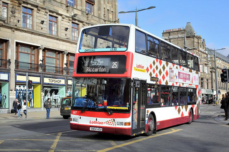 687 SN04AEA, Edinburgh 21/2/2014