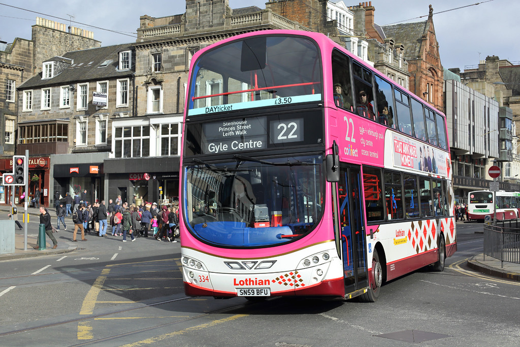 334 SN59BFU, Edinburgh 21/2/2014