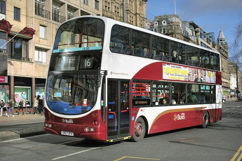 857 SN57DFK, Edinburgh 21/2/2014