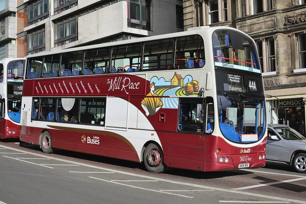 746 SN55BOV, Edinburgh 21/2/2014